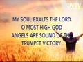♫♪ My spirit has rejoiced in God my savior ♫♪