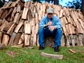 Fireplace woods -stack