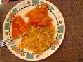 fish of the sauerkraut   for dinner  ;-)